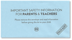 safety information envelope
